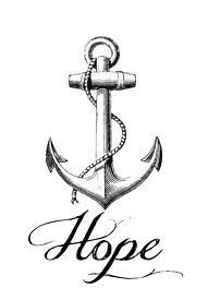 Anchor Tattoo....minus the hope. add roses.