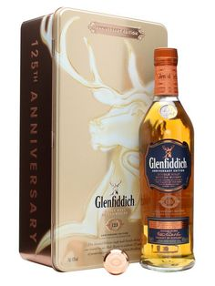 Glenfiddich Anniversary / : Buy Online - The Whisky Exchange - A special bottling to celebrate the anniversary of Glenfiddichs opening, with spirit running from the stills on Christmas day This was originally a travel retail exclusive released in . Cigars And Whiskey, Scotch Whiskey, Irish Whiskey, Whiskey Bottle, Glenfiddich Whisky, Speyside Whisky, Cocktail Drinks, Fun Drinks, Alcoholic Drinks