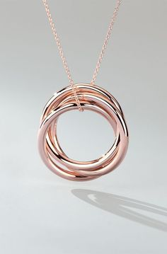 Rose gold is having a moment! It's time to fall in love with this beautiful blush-colored jewelry from Blue Nile.