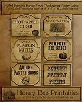 printable primitive pantry labels - - Yahoo Image Search Results