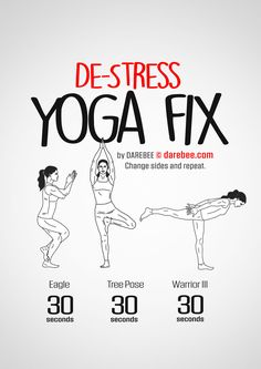 De-Stress Yoga Fix Workout | Posted by: AdvancedWeightLossTips.com.