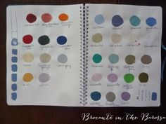 Loving our boutique copy of Annie Sloan Work Book. Last week in ANZ stockist training, I dabbed onto these pages a bit of all 30 colours of Annie Sloan Chalk Paint we will be stocking for sale. Hard to say which colour is best, they are all truly beautiful.