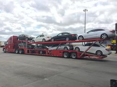 #Open #Car #Transport is a method of auto #shipping when a car is transported in an open #trailer. It is secured on a trailer and perfectly #safe but is open to weather conditions and road dirt. The car is shipped along with other #vehicles in the trailer. http://www.denvercarshipping.com/open-car-transport/
