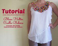 como-hacer-blusa-facil-moda-verano-escote-halter-cuello-babero-bambula-058.JPG (1600×1282)