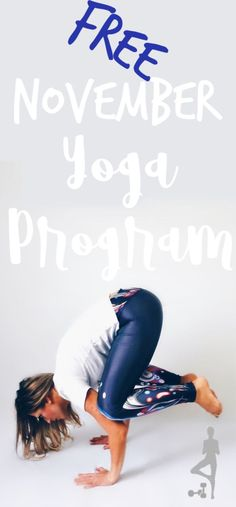 5 free yoga videos for the month of November to help you learn to crow pose. In this free yoga challenge you will learn all the components of crow pose! 7 Day Workout Plan, Step Workout, Workout Guide, Workout Videos, Yoga Fitness, Fitness Tips, Free Yoga Videos, Crow Pose, Fat Burning Workout