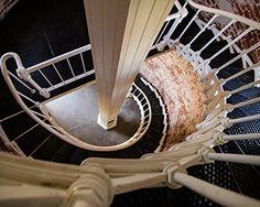 "Downward Spiral, Point Sur Lighthouse, Big Sur, California - Framed Photo Art Print, 11""x 14"" Romagosa Fine Arts http://www.amazon.com/dp/B017ARZVYA/ref=cm_sw_r_pi_dp_x7zmwb0GJHDCC"