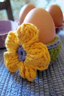Daisies&Eggs by NTmaglia - free pattern