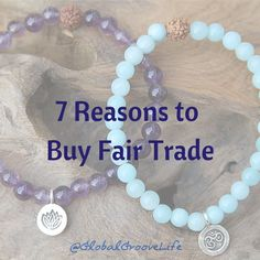 """""""Fair Trade strikes a chord with many people. For some, it's a clear-cut choice of buying responsibly. For others, it's a way to stick it to the man. For others still, it's a choice born of extensive research, a deep passion for the environment, or a love of unique handmade goods."""" There are many reasons to buy Fair Trade - all of them good. In this blog post, we examine 7 key reasons to buy Fair Trade, and why. #fairtrade #choice"""