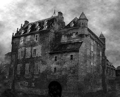 Castle Doorwerth III..... This medieval castle is supposed to be haunted by the ghost of a little girl who died of starvation. British investigators discovered three other ghosts and in 2004 castle Doorwerth featured in the BBC program The most haunted..