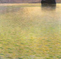 Gustave Klimt, Island in the Attersee, 1901