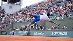 Gael Monfils (France) - 2014 Roland Garros Men's Singles Second Round