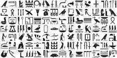 Flere egyptiske symboler