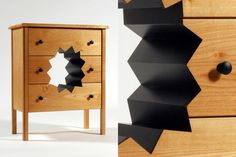 Oops! Cabinet: a fully-functional cabinet with a huge hole in the middle