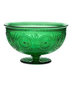 Another great find on #zulily! Emerald Rosalie Serving Bowl #zulilyfinds