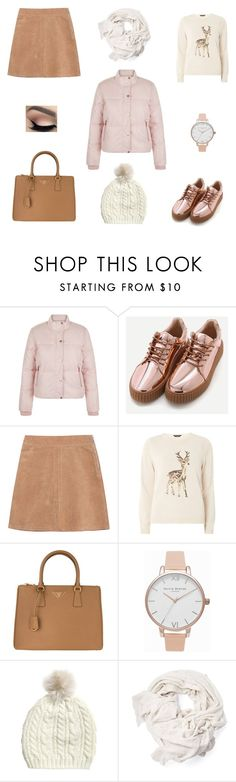 """made by my 7-year-old sister 😊"" by goodvibesonlycalifornia ❤ liked on Polyvore featuring New Look, See by Chloé, Dorothy Perkins, Prada and Olivia Burton"