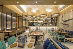 Fish & Co 2 restaurant by Metaphor Interior Architecture Jakarta  Indonesia