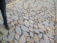 Leaf shape tiles