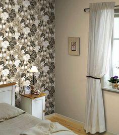 wallpaper+for+walls+modern | room-decorating-ideas-black-white-wallpaper-flower-wallpapers