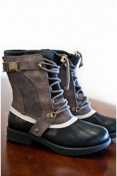 Breaking Ground Boots-Grey-Black - I wonder if they are waterproof?
