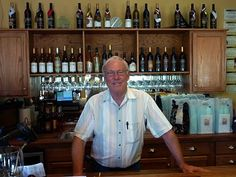 Gene at Lost Oak Winery, Burleson TX