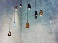'Babula' pendant lamps by Krools