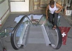 Take a look at this amazing Interactive Pavement Drawing Illusions illusion. Browse and enjoy our huge collection of optical illusions and mind-bending images and videos. Amazing Street Art, 3d Street Art, Wall Street, Art Optical, Optical Illusions, Watercolor Desktop Wallpaper, Wallpaper Art, Screen Wallpaper, 3d Sidewalk Art