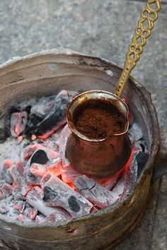 Turkish coffee best cooking style http://www.turkishstylegroundcoffee.com/turkish-coffee-recipe/ #turkishcoffee #turkishcoffeerecipe