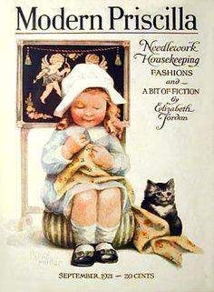 Modern Priscilla Magazine, September 1921 (Annie Benson Muller)