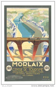 Morlaix - Bretagne - Centre de Tourisme - 1936 -