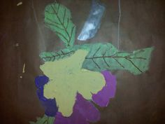 Primroses done by the Faux Arts After School Art club at Ogbourne Primary