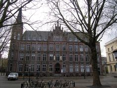 Johannes de Deo Mariaplaats Utrecht, Holland (used to be a hospital),appendix removed and my room was in between the white statue's, pinned by Ton van der Veer Was, Present Day, Utrecht, Holland, Cool Pictures, Places To Visit, Statue, City, Room