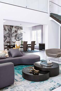 Contemporary Residence by Contour Interior Design