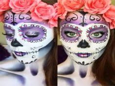 Dia de los Muertos is a Mexican holiday in which people remember their family and friends who have passed in hopes of helping their spiritual journey. One way people do this is by offering sugar skulls by placing them at the altar of their loved one on Dia de los Muertos. Sugar skulls are often very creative and colorful. Check out some sugar skull makeup inspiration to celebrate Dia de los Muertos this year.