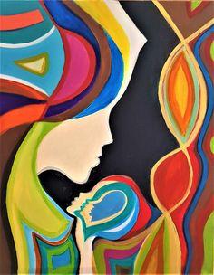Pinturas Art Deco, Art Deco Paintings, Soft Pastel Art, Cubist Art, Arte Pop, Mexican Folk Art, Mandala Design, Fabric Painting, Pop Art