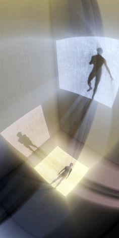 Adam Martinakis, 1972 Adam Martinakis, 1972 ~ Surrealist D. Digital Painter, Illusion Kunst, Art Actuel, Museum Lighting, Instalation Art, Shadow Art, To Infinity And Beyond, Light Art, New Wall