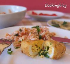 Cooking: Peixinhos da horta, ovos verdes...hora dos petiscos