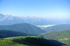 Sonnenaufgang - Toblacher Pfannhorn -  Dolomiten / Südtirol