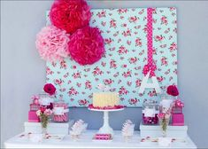I love this sweet birdy tea party theme styled by Ruby May Designs , beautiful colours, love the rose backdrop, the beautiful ruffle cake wi. Girl Birthday, Birthday Parties, Frozen Birthday, Tea Party Theme, Baby Shower Backdrop, May Designs, Party Decoration, Girl Shower, Party Time
