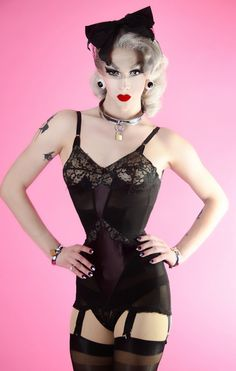 "Violet Chachki - ""I have the smallest waist in Rupaul's Drace Race history!"""