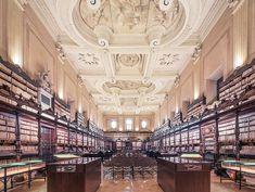 As 9 bibliotecas mais lindas do mundo (Foto: Franck Bohbot)