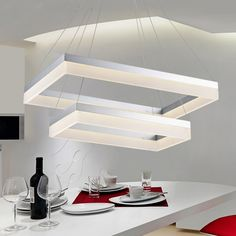 cubic double lamp minimalist dining