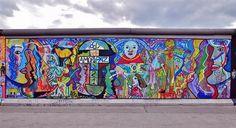 East Side Gallery, Berlin Wall - Kim Prisu - - - Street Art, 2009