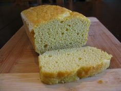 This is a very good coconut flour (nut free) bread. Would be good as a focaccia bread with olives and rosemary too.