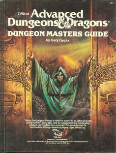 """ashelfofbooks: """" Official Advanced Dungeons & Dragons Dungeon Masters Guide by Gary Gygax TSR Inc 1979 ISBN 0880380519 """" I really need to get mine out of storage. Dungeons And Dragons Adventures, Dungeons And Dragons Books, Advanced Dungeons And Dragons, Gary Gygax, Dungeon Master's Guide, Medieval, Dnd Art, Illustrations, Dragon Age"""