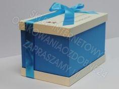 Pudełko na koperty z nadrukiem