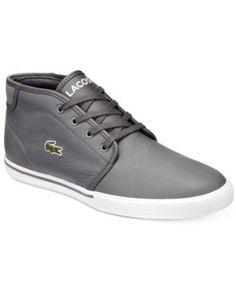 LACOSTE Lacoste Men S Ampthill High-Top Sneakers.  lacoste  shoes   all men 77707d4f1d
