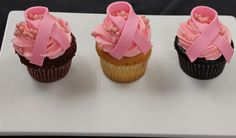 Three times a lady and three times a cure! Enjoy this scrumptious trio of red velvet, vanilla, and chocolate cupcakes, for USD 12. Proceeds from the specialty  cupcakes will benefit breast cancer research through the Susan G. Komen for the Cure Foundation. #BreastCancerAwareness