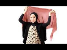Tutorial Hijab Turban Layer Untuk Ke Pesta - YouTube