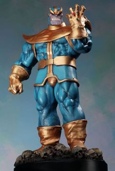 Thanos statue Sculpted by: Randy Bowen & The Shiflett Brothers  Release Date: October 2005 Edition Size: 2000 Order Of Release: Phase II (staute #54)