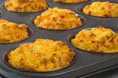 Low Carb Morning Glory Muffins Recipe | dLife